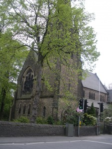 Holy Trinity Church, Dinting Vale, Derbyshire