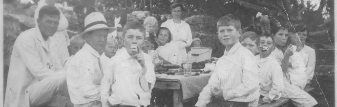 Spanish Point Picnic 1920s