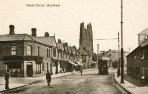 Undated photo of Brook Street, Wrexham